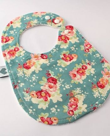 Baby Bibs Cabbage Rose