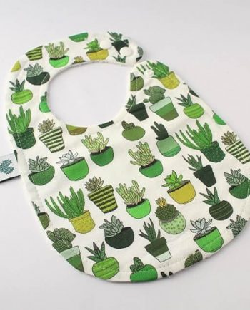 Baby Bibs Succulents and Cactus
