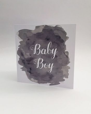 baby shower messages boy card