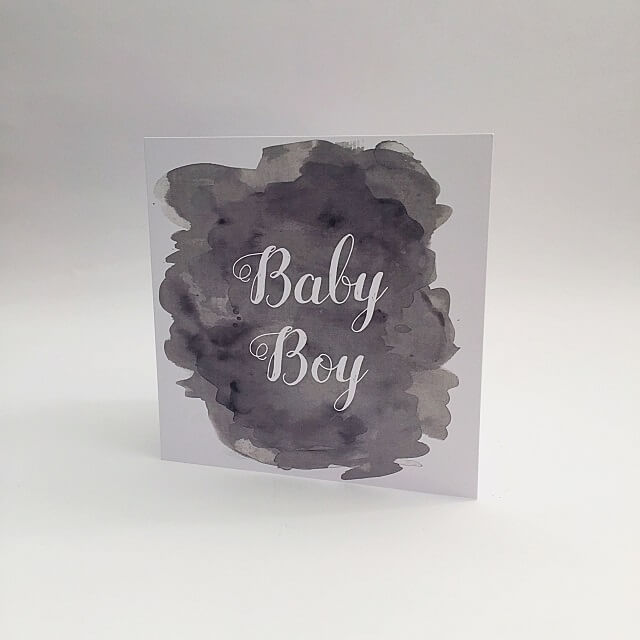 Baby Boy Card Image