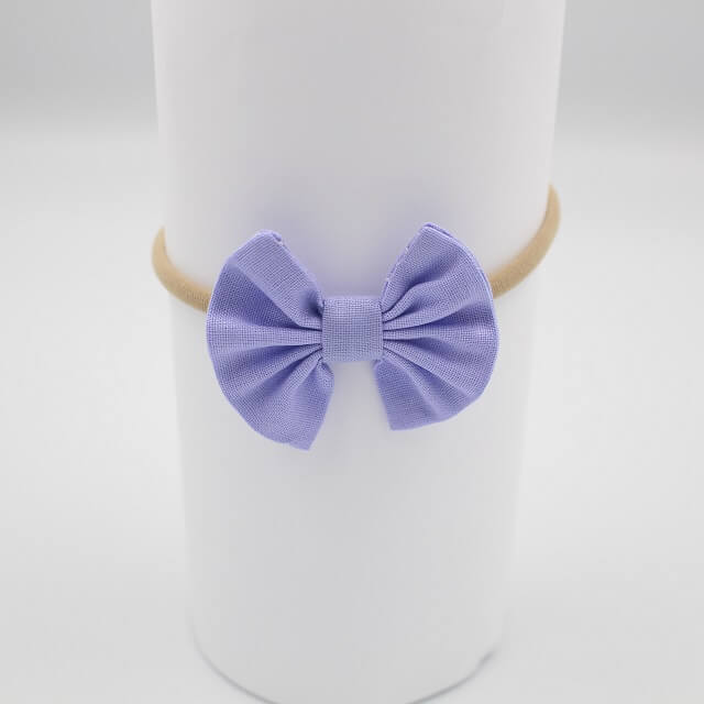 purple baby headbands