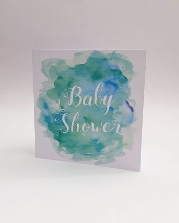 congratulations on your baby shower card