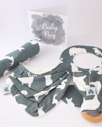 Baby Gifts in animal fabric print