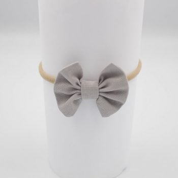 Baby Headbands in Grey
