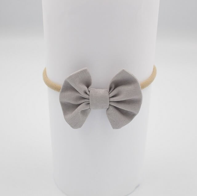 Baby Headbands Grey