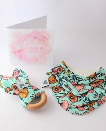 best baby gifts in hummingbirds fabric
