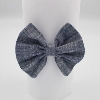 Headband in Indigo print