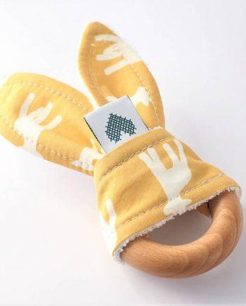 Bunny-Baby-Teething-Ring-Lambs