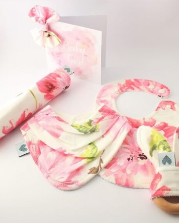 Deluxe Baby Shower Gift Set Pink Blossom