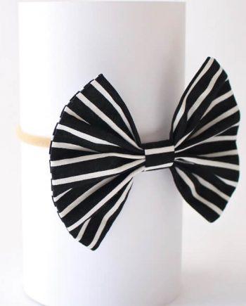 Headbands-White-and-Black-Stripes