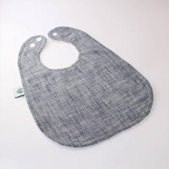Best bibs large in indigo print