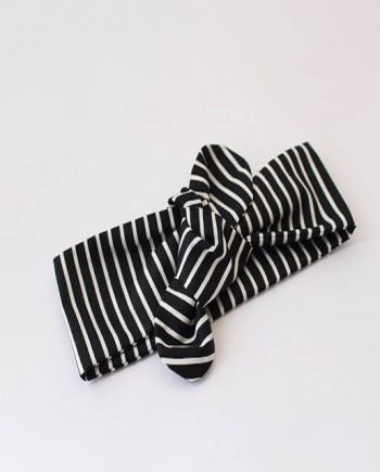 Top-Knot-Black-and-White-Stripes