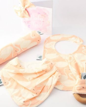 unique baby shower gift ideas in swan print