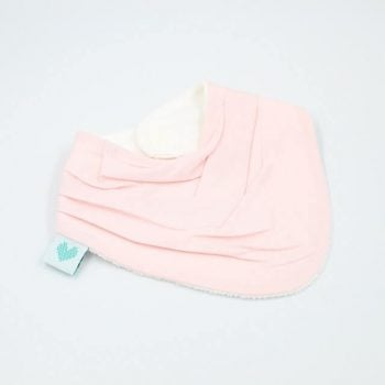 Neckerchief pink bib