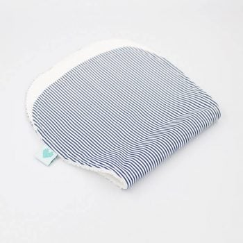 best burp cloths in Navy stripes