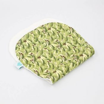 Stylish burp cloths in Eucalyptus print