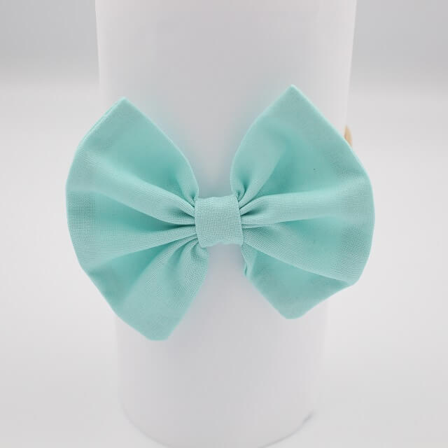 Aqua fabric hair accessories online australia