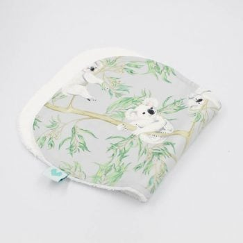 Burp Cloths in Koala print