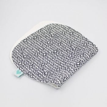 Burp Cloths in circles print