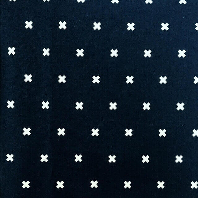 Fabric Crosses Print