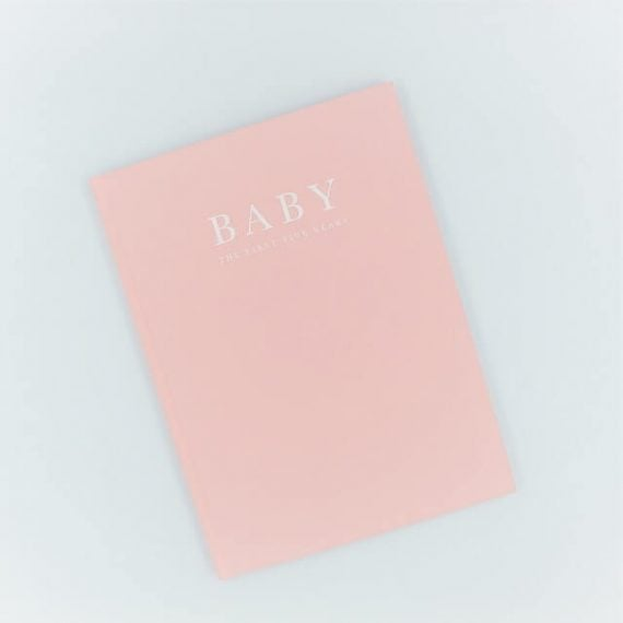 Baby Book in Pink