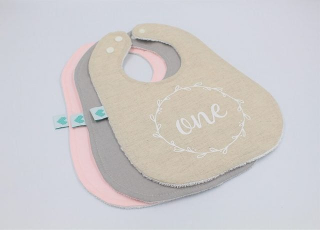 One first birthday bibs ideal for a First birthday present ideas