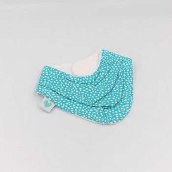 Dribble bib in Abstract dots
