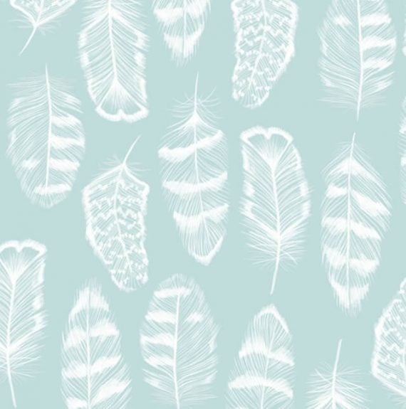 Feathers print design