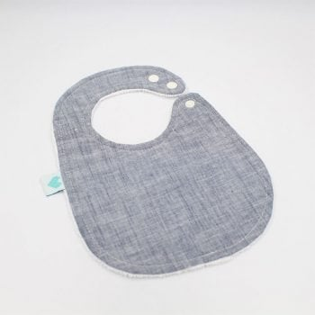 baby bibs in indigo colour