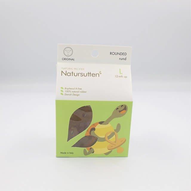 natural rubber dummy packaging for Natursutten pacifier