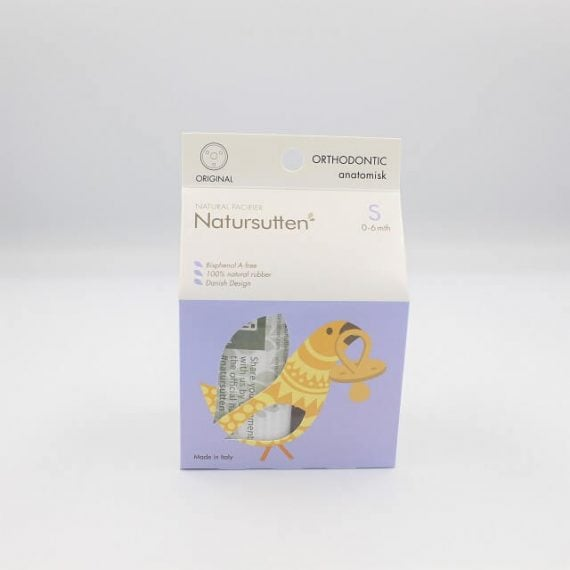 Natursutten small orthodontic packaging