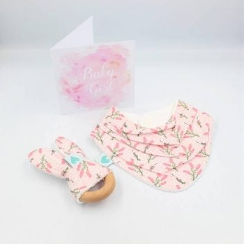 Botanical print new baby gifts