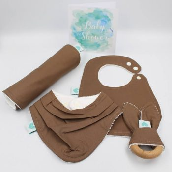 baby gifts for boys burnt almond colour