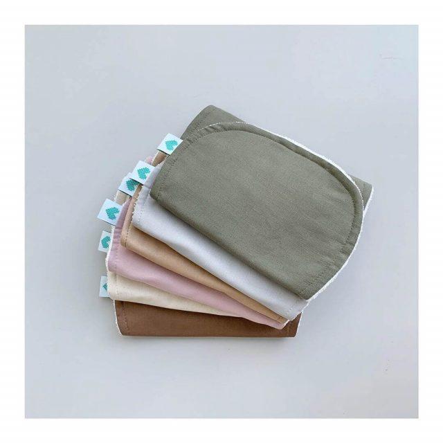 burp cloths for nappy bag