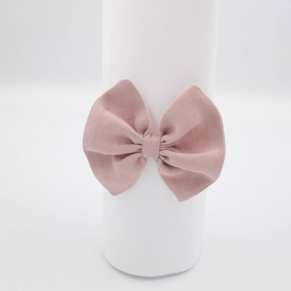 girls headband dusty pink