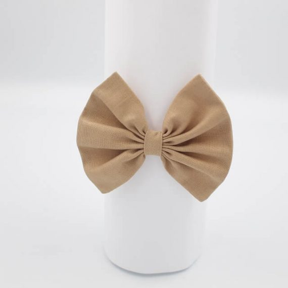girls headbands tan brown