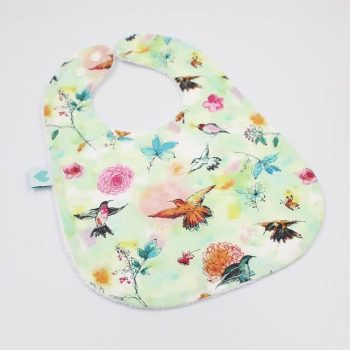 girls toddler bibs birds