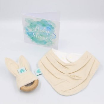 newborn gift set oatmeal