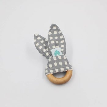 organic teething ring shadow