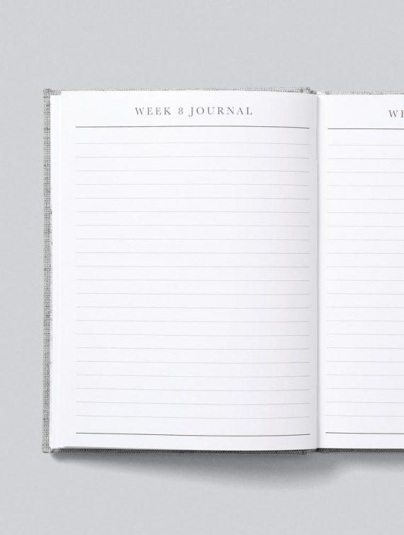 pregnancy journal weeks blank