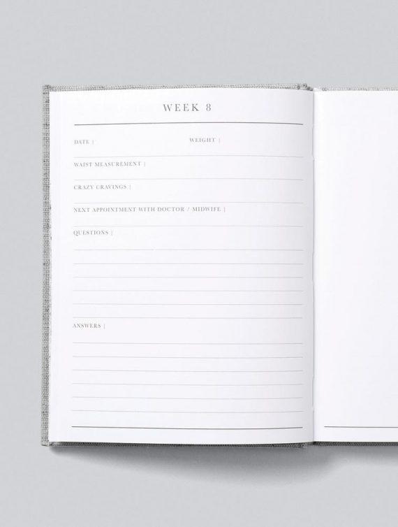 pregnancy journal weeks