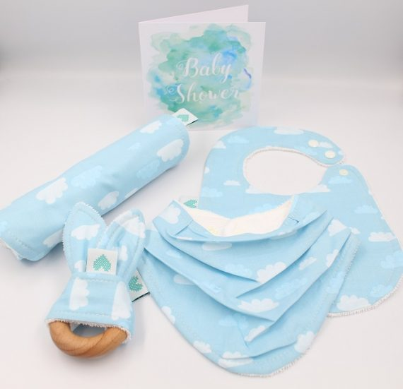 Boy Baby Gift Clouds