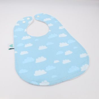 Toddler Bibs Clouds