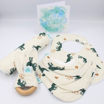 boys baby gifts set dinosaurs