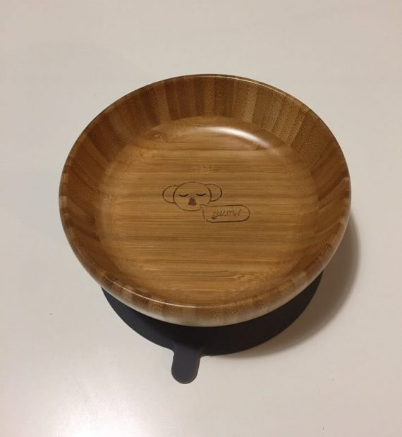 Baby Suction Bowl Front View